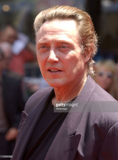 Christopher Walken during 'The Country Bears' Premiere at El Capitan Theatre in Hollywood, California, United States.