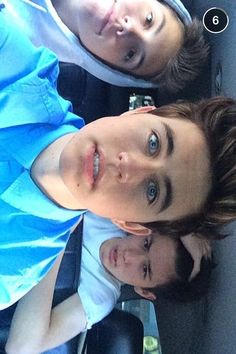 Group shot :) I'm surprised at how much nash uses his snapchat lol