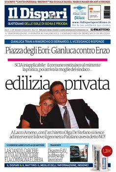 La copertina del 19 ottobre 2016 #ildispari #ischia