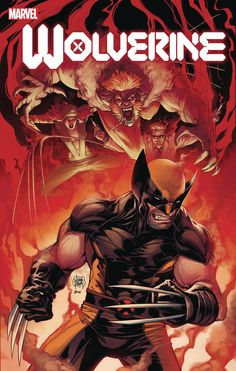THE WORST IS BACK! Wolverine has never been one to back down from a fight - not even a combined assault from Lady Deathstrike, Sabretooth and Doctor Cornelius - but the Flower Cartel might have enlisted his worst and greatest foe: Logan himself. Marvel Dc, Marvel Comics Art, Disney Marvel, Marvel Heroes, Comic Book Covers, Comic Books Art, Comic Art, Wolverine Art, Logan Wolverine