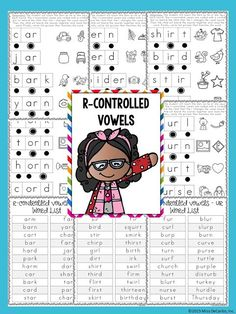 R controlled sounds - No Prep Reading Intervention Binder ELA Edition 2: Packed with phonics and fluency activities, ideas, resources, printables, and word lists for small groups, RTI, one on one intervention and instruction, and literacy groups. Great for teachers, volunteers, and intervention specialists. Tons of reading intervention ideas and strategies by Miss DeCarbo!