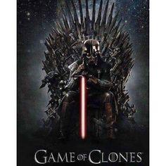 Star Wars Vader King #GameofClones
