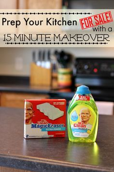 Prep Your Kitchen For Sale with a Fifteen Minute Makeover #15MinReno #ad