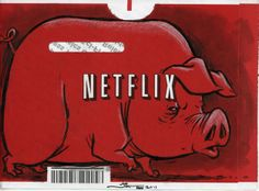 Community Post: 25 Awesomely Illustrated Netflix Envelopes