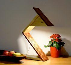 NARITO: lampe en bois,design, luxe, éclairage LED : Luminaires par woodlampdesign
