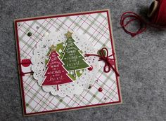 Use the latest festive products from the Stampin' Up! range to create a beautiful Christmas card! Designer Sarah-Jane Rae shows you how…