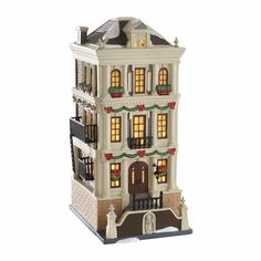 Christmas Collectible Department 56: Department 56 Christmas In The City Holiday Brownstone New 2016 Free Shipping -> BUY IT NOW ONLY: $86.5 on eBay!