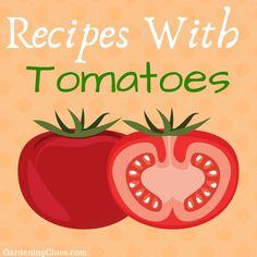 Recipes Tomato Harvest, Recipes, Ripped Recipes, Cooking Recipes, Medical Prescription, Recipe