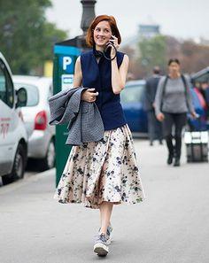 9 Spring Midi Skirts That Twirl via @WhoWhatWearAU