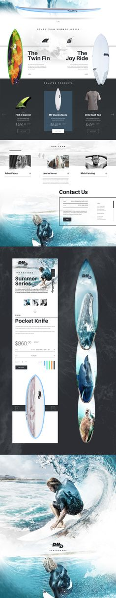 DHD Surfboards is one of the last great surf manufacturers. Operating out of…