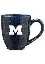 Michigan Wolverines 16oz Speckled Mug
