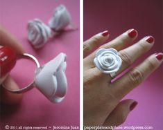 Mother's Day is hours away, but there's still lots of time to make these beautiful foam roses in minutes. They're much more dainty than the no-fuss paper roses I made for Valentine's, and perhaps ...