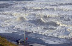 Scarborough's North Bay takes a pounding from the wavesPicture: Tony Bartholomew