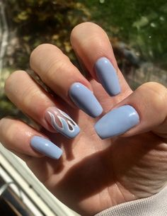 - Care - Skin care , beauty ideas and skin care tips Acrylic Nails Coffin Short, Simple Acrylic Nails, Almond Acrylic Nails, Summer Acrylic Nails, Coffin Nails, Stylish Nails, Trendy Nails, Acylic Nails, Nagellack Trends