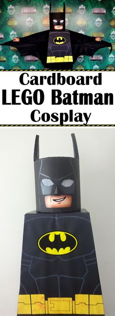 Get ready for the upcoming LEGO Batman Movie with this fun costume!