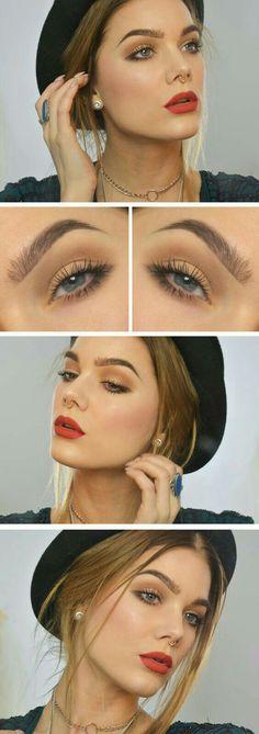 Conoce las #tendencias de #maquillaje para esta temporada del año. #Otoño #TendenciasDeMaquillaje