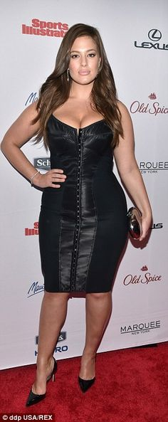 In the last few years, plus size models who range from a UK size 14 to a size 22 are changing the face of fashion. Pictured: Ashley Graham