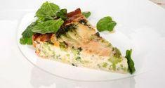 Receta de Tarta de brócoli y queso azul