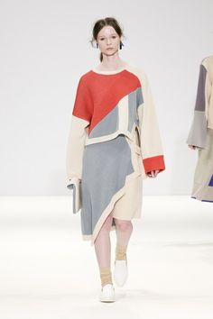 Catwalk photos and all the looks from J Moon Autumn/Winter 2015-16 Ready-To-Wear London Fashion Week