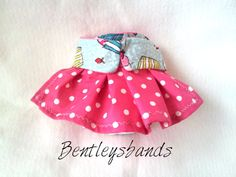 Cupcakes  in  X  SMALL size dog diaper in season by Bentleysbands, $7.00