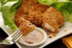 Now you can dig into ahealthy, finger-lickin' good fried chicken dinner without going to KFC to buy a bucketful of the bad stuff...   This past weekend, h