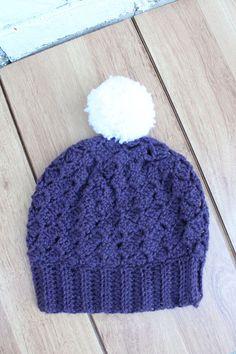 Crochet Berry Hat free pattern