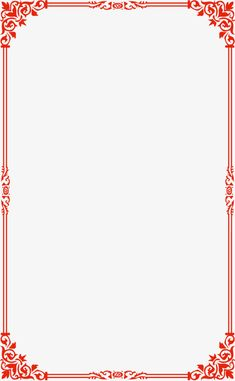 Red Simple Border Vector Wireframe Vector and PNG Frame Border Design, Boarder Designs, Photo Frame Design, Page Borders Free, Page Borders Design, Borders For Paper, Borders And Frames, Page Background Design, Kids Background