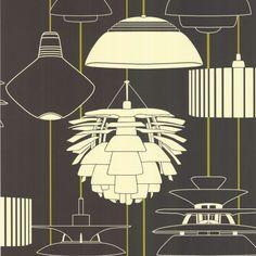 Illuminate Wallpaper | Identity Wallpaper Collection | Harlequin Wallpaper