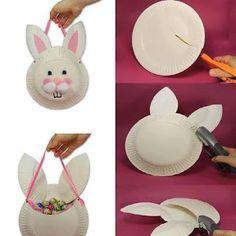 Panier lapin de Pâques Tutoriel
