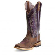 Ariat Brown La Fuega Cowgirl Boots