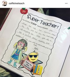 Student Teacher - Super Teacher Gift Idea
