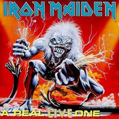 A Real Live Dead One is a live album by the British heavy metal band Iron Maiden, released in The album tracks were recorded at differ. Iron Maiden Album Covers, Iron Maiden Albums, Heavy Metal Bands, Gifs, Rock N Roll, Eddie The Head, Where Eagles Dare, The Trooper, Fear Of The Dark