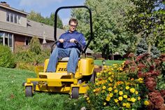 Hustler Turf's Zeon is an all-electric mower and just one of the alternative fuel options for landscapers to consider.  Photo: Hustler Turf
