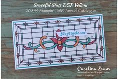 Carolina Evans - Stampin' Up! Demonstrator, Melbourne Australia: Ink it! Stamp it! Blog Hop - New 2018-2019 Annual Catalogue #inkitstampit