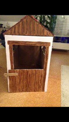 Cardboard Box Horse Stable Ideas Horse Stables Horse