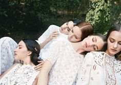 Shot by Michal Pudelka for Valentino Spring/Summer 2015