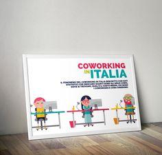 ©2014 Francesco La Ferla Infographic Flat Characters https://www.behance.net/gallery/18552027/Coworking-in-italia-Infographic