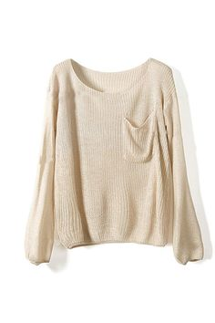 slouchy jumper