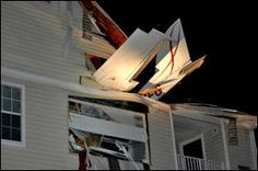 Virginia State Police say two people were taken to a hospital after a two-seat plane crashed into the living room of a third-story apartment outside Washington.