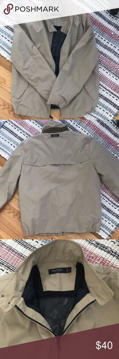 NAUTICA COAT Perfect condition. Khaki. Nautica Jackets & Coats Windbreakers