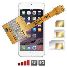 SIMore adaptorul triple SIM pentru iPhone 6 (Video)   iDevice.ro