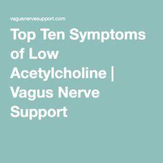 Top Ten Symptoms of Low Acetylcholine - Vagus Nerve Support Health Heal, Brain Health, Heart Health, Vagus Nerve Stimulator, Autonomic Nervous System, Stress, Autoimmune Disease, Natural Medicine, Health And Wellbeing