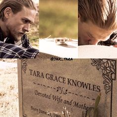 I was happy when Jax finally visited Tara's grave Sons Of Anarchy Motorcycles, Sons Of Anarchy Samcro, Favorite Tv Shows, My Favorite Things, Charlie Hunnam Soa, Jax Teller, Drama Series, Music Tv, Man Alive