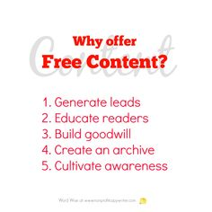 Why offer free content? With Word Wise at Nonprofit Copywriter Easy Writing, Make Money Writing, Article Writing, Blog Writing, Writing Tips, Writing Resources, Writing Services, Blog Websites, Professional Writing