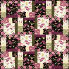 Aubrey Quilt pattern by Studio E Fabrics at Bear Creek Quilting Company