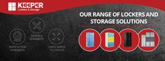 Storage lockers for sale at Keeper Lockers & Storage. Australia's Leading Supplier of storage lockers. We offer a comprehensive range of storage lockers and solutions. Office Storage, Locker Storage, Lockers For Sale, Steel Locker, Storage Design, Facts, Australia, Repurposed, Sydney