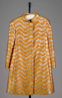 Evening Coat Oscar de la Renta, 1968 The Metropolitan Museum of...