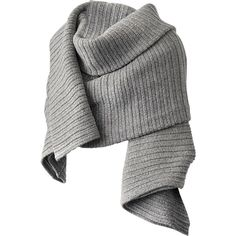 Acne Studios Jodi V L-Wool shawl (3 030 SEK) ❤ liked on Polyvore featuring accessories, scarves, jackets, grey, gray scarves, grey scarves, gray shawl, wool shawl and wool scarves