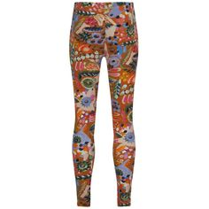 Oilily Girls Multicoloured Forest Print Leggings. Available at www.chocolateclothing.co.uk