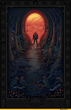 красивые картинки,арт,ведьмак 3,The Witcher,Ведьмак, Witcher…